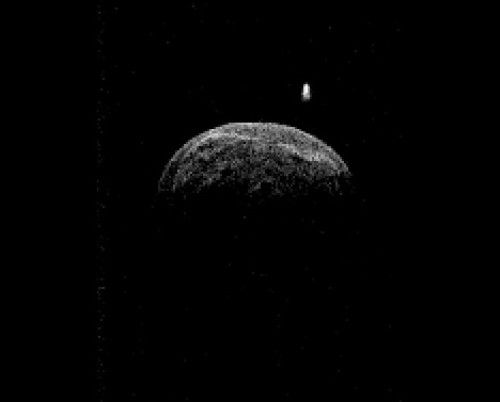 Получены радарные изображения астероида, находящегося рядом с Землей