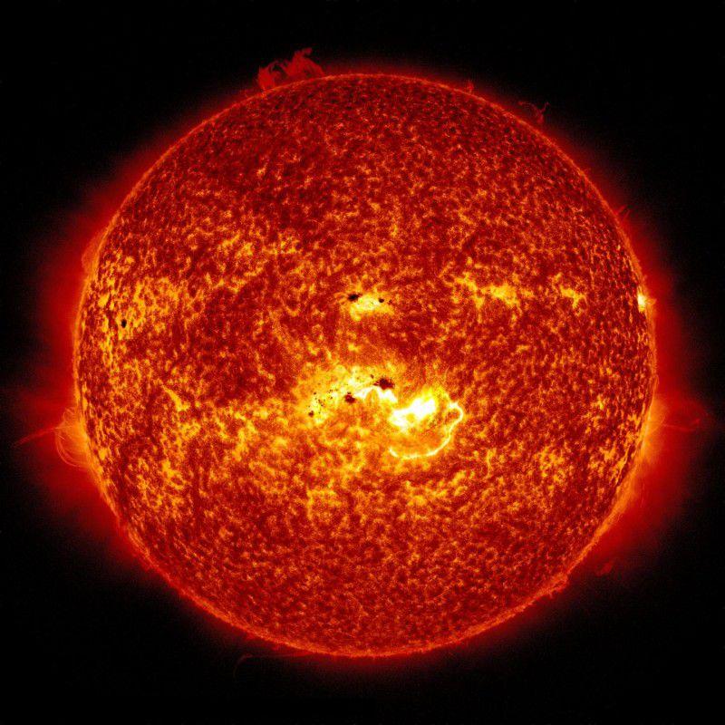 Активность Солнца в XVIII столетии была такой же, что и в наши дни
