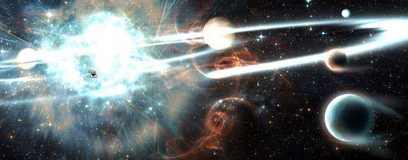 «Асимметричная» сверхновая является источником гиперзвуковых звезд