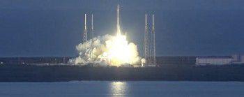 Обсерватория DSCOVR успешно запущена в космос на борту ракеты-носителя Falcon 9