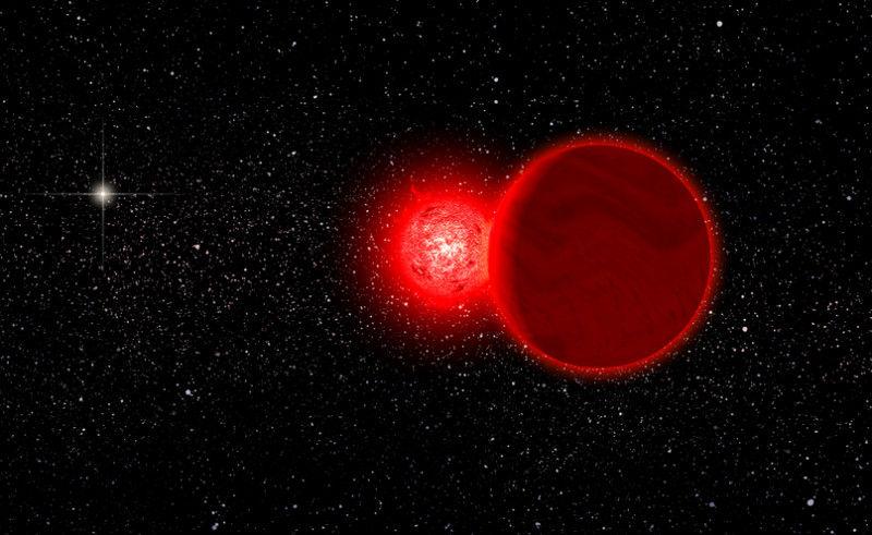 Тусклая звезда проходила сквозь облако Оорта 70000 лет назад, выяснили астрономы