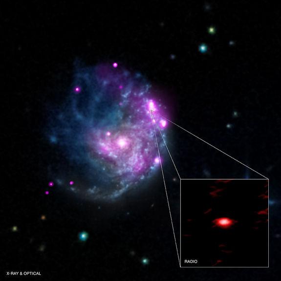Необычная черная дыра, вероятно, и есть «недостающее звено» в системе черных дыр