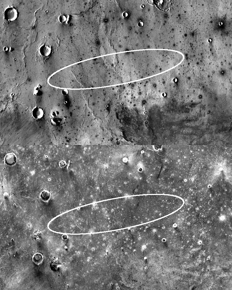 НАСА выбирает место для посадки нового марсианского спускаемого аппарата