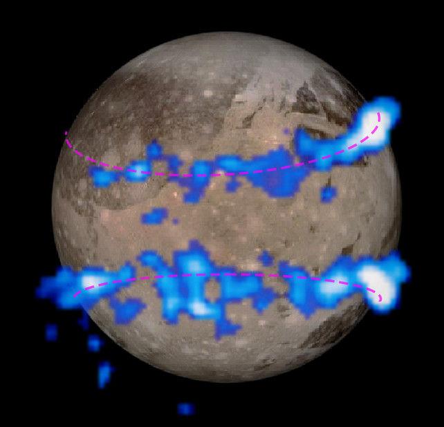 На крупнейшем спутнике Юпитера Ганимеде обнаружен подповерхностный океан