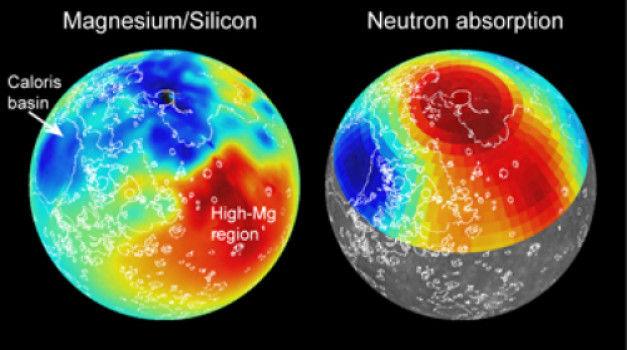 Новые карты элементного состава поверхности Меркурия поведали об истории планеты
