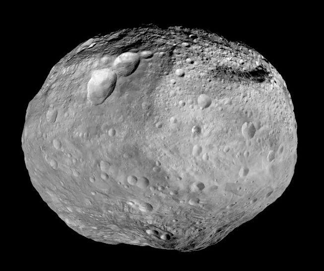 Оливин на Весту мог быть занесен с другими астероидами