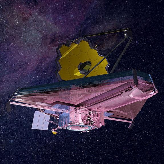 Преемник телескопа «Хаббл» будет готов к запуску в 2018 году согласно плану