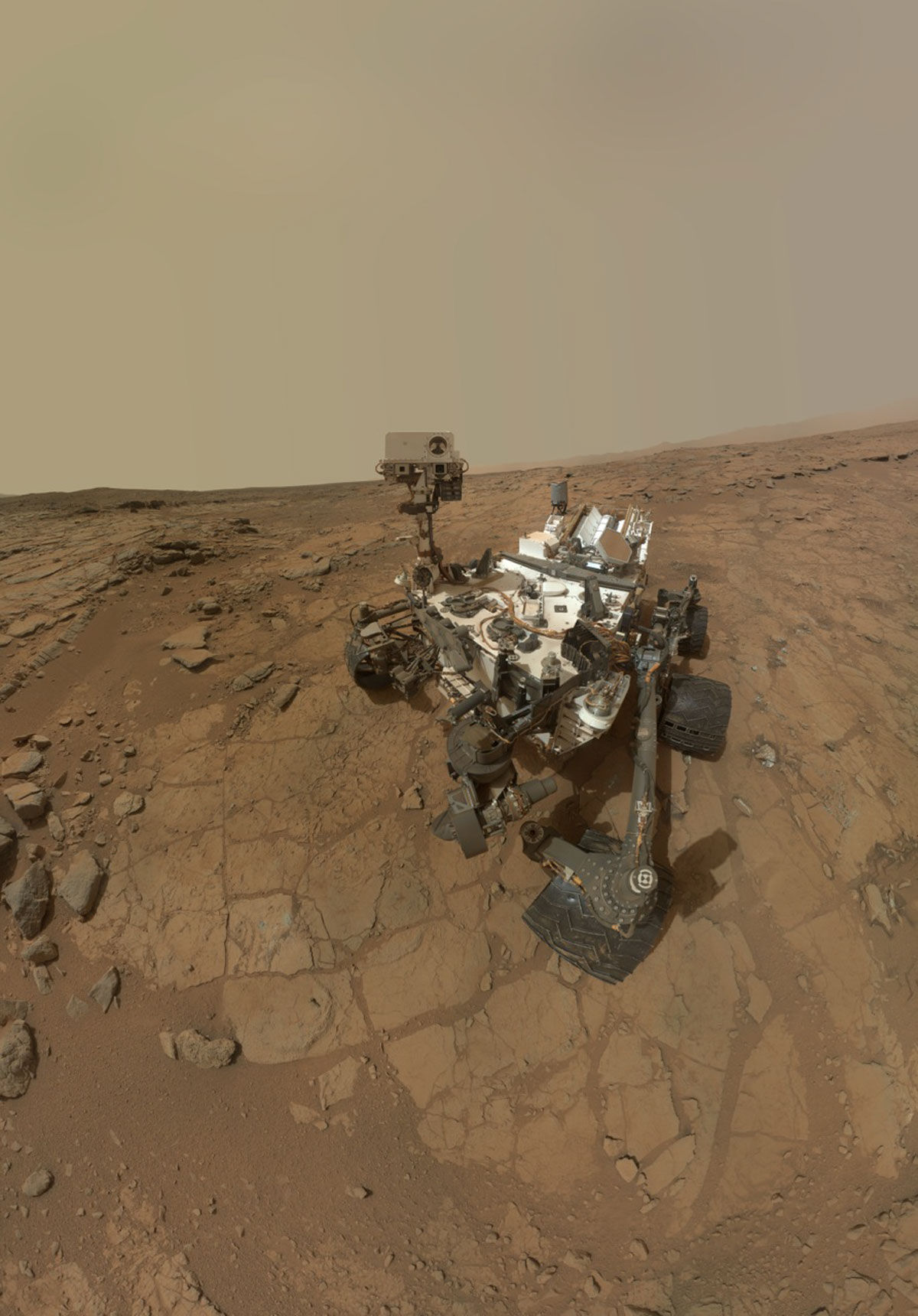 Ровер Curiosity находит на Марсе нитраты – источник азота для жизненных форм