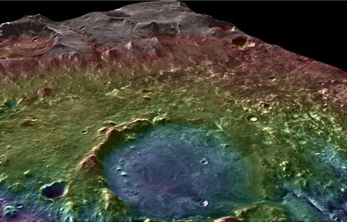 Древнее марсианское озеро рассказывает историю воды на Красной планете