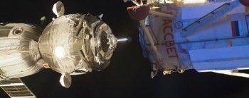 Космический корабль «Союз ТМА-16М» успешно пристыковался к МКС
