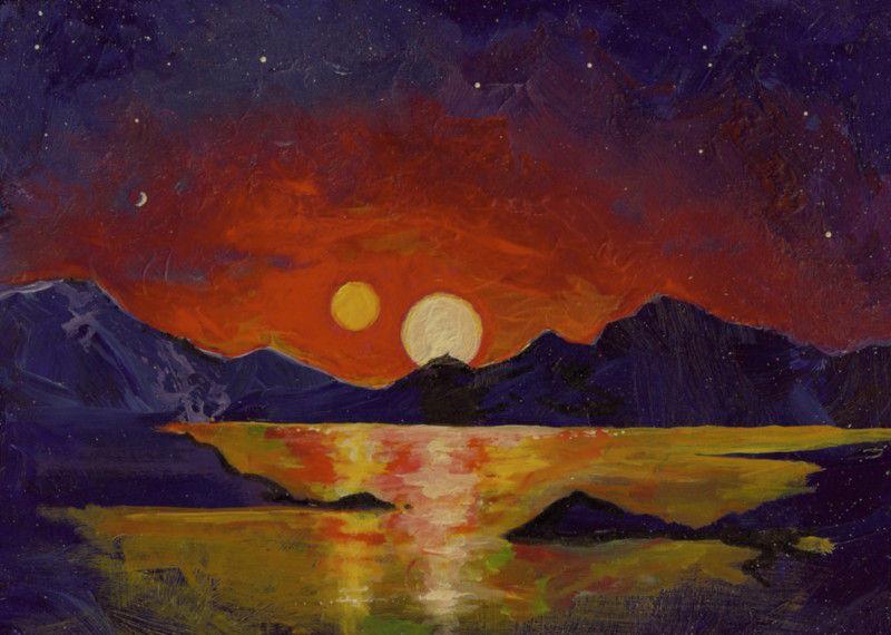 Землеподобные планеты могут формироваться в двойных звездных системах