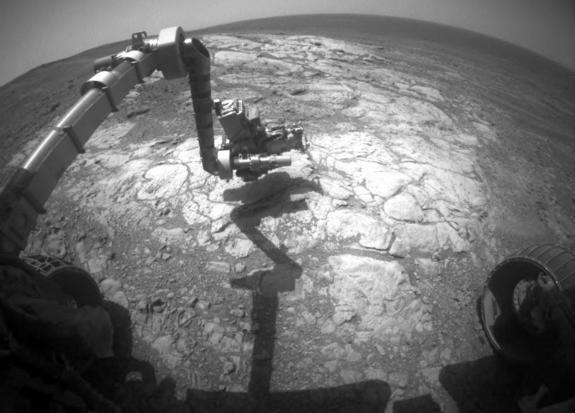 Марсоход НАСА «Оппортьюнити» вновь испытывает проблемы с памятью