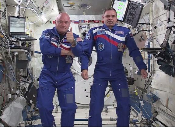 «Уже сегодня я чувствую себя на МКС как дома», – говорит Скотт Келли