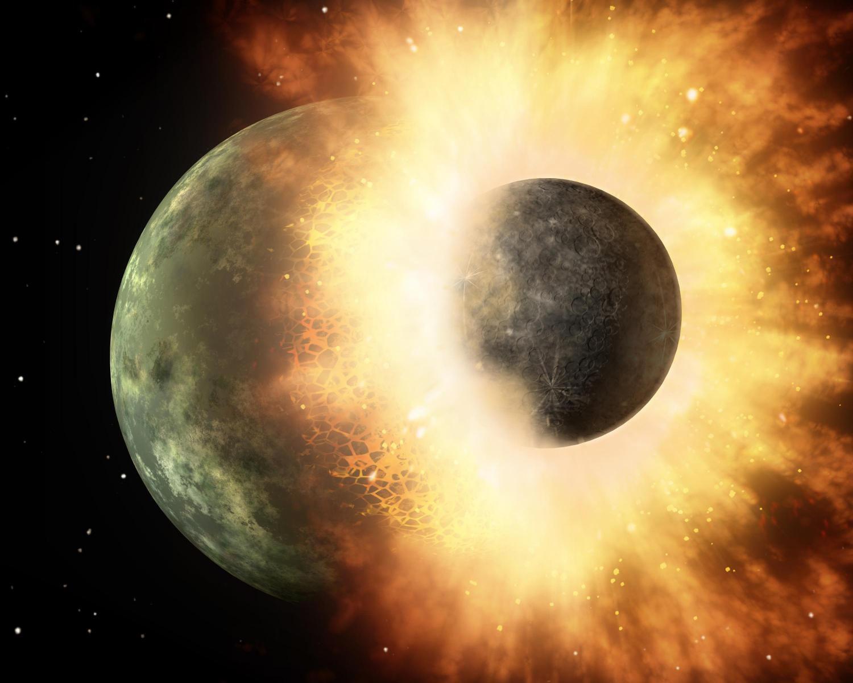 Изотопный анализ подтвердил теорию «взрывного» происхождения Луны