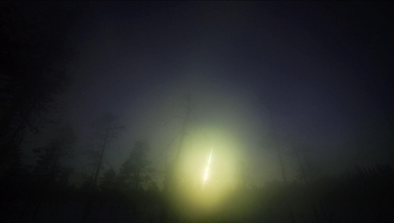 Исследователи установили происхождение метеорита Аннама