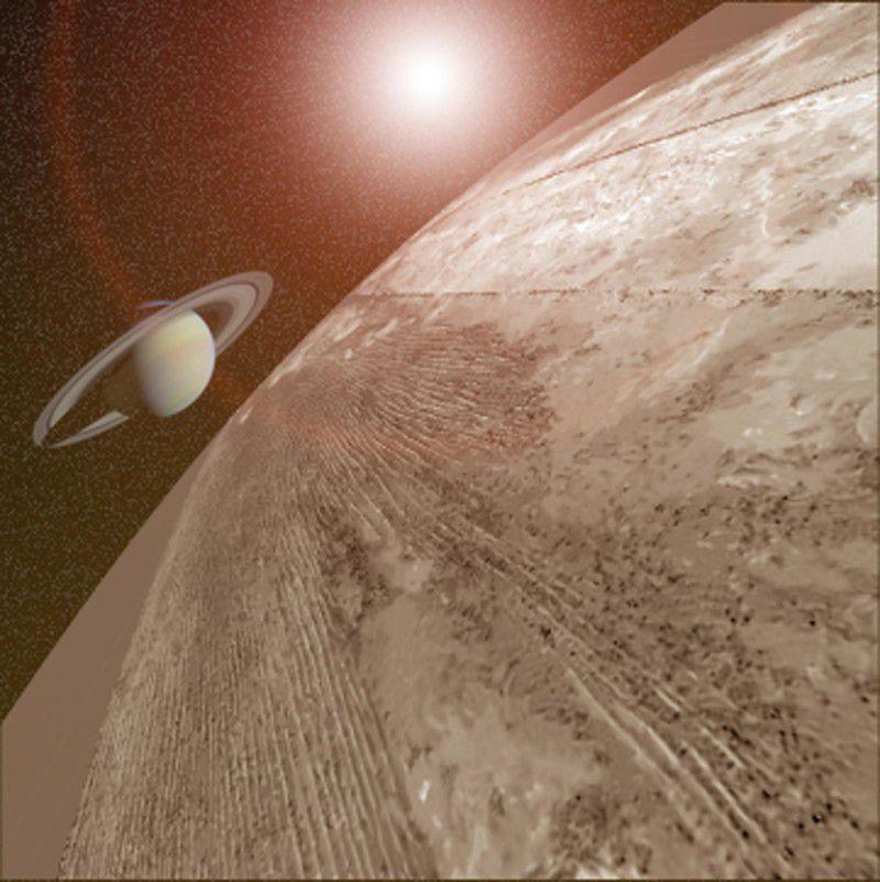 Мощные метановые бури объясняют необычное направление склонов дюн на Титане
