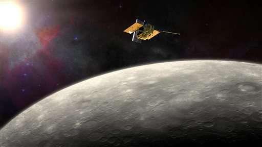 Миссия MESSENGER завершится 30 апреля: зонд будет сброшен на Меркурий
