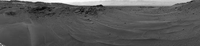 Curiosity преодолел дистанцию в 10 км и продолжает бороздить просторы Марса