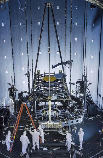 Космический телескоп «Джеймс Вебб»: строительство идет полным ходом