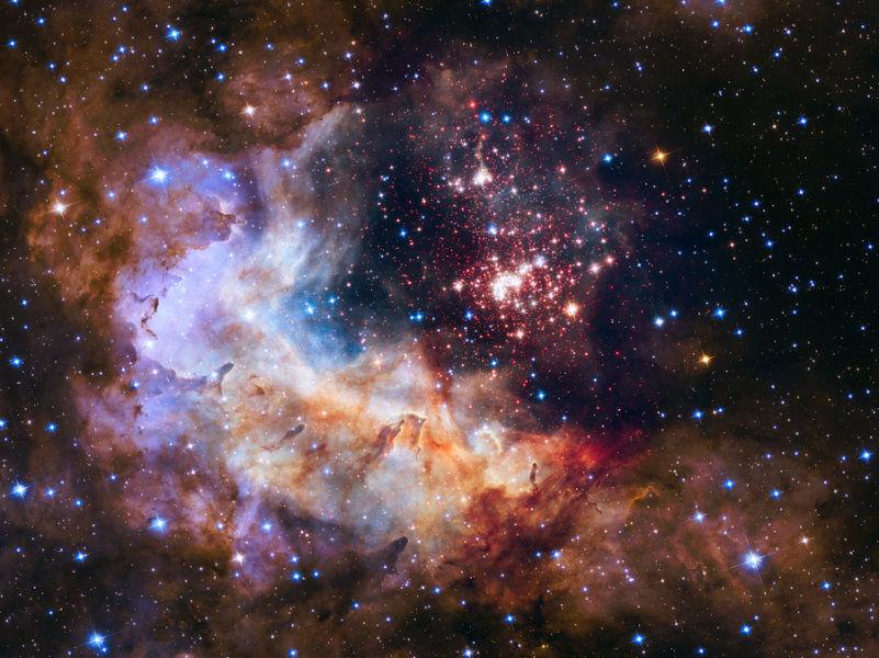 К своему 25-летнему юбилею космический телескоп «Хаббл» представил новый снимок