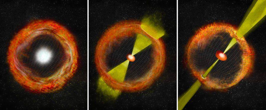 Странная сверхновая стала недостающим звеном теории гамма-всплесков