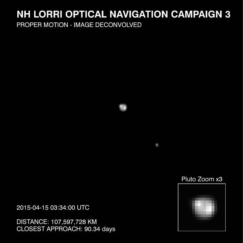 Зонд New Horizons обнаруживает неоднородности на поверхности Плутона