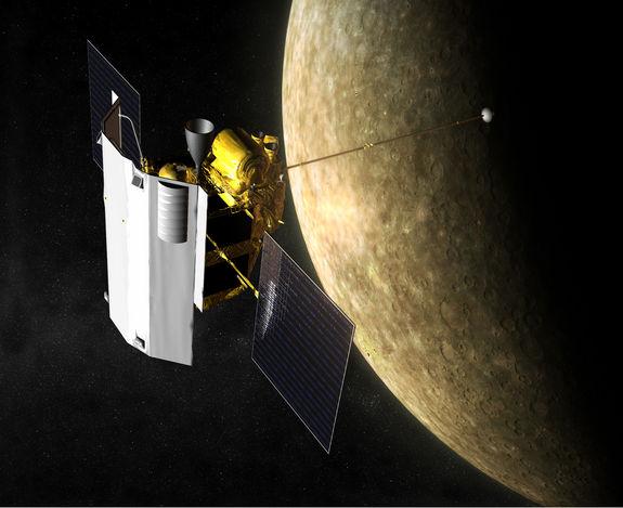 Спустя несколько часов MESSENGER врежется в поверхность Меркурия