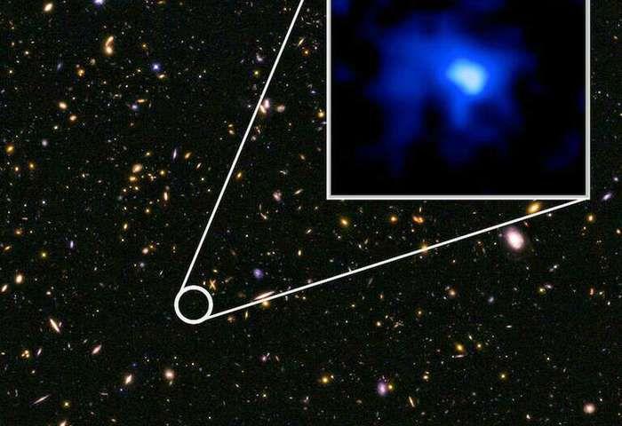 Астрономы открыли самую далекую от нас галактику Вселенной