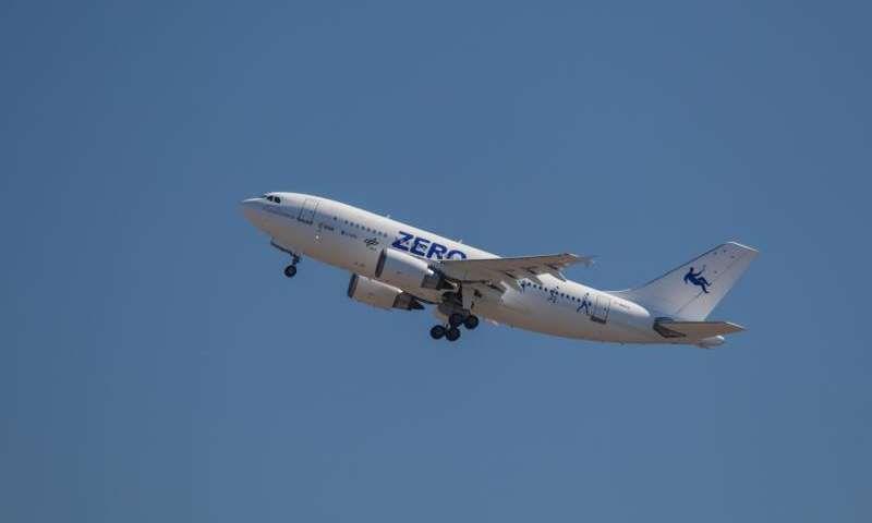 Европейцы испытали Airbus A310 ZERO-G в условиях изменяющейся гравитации
