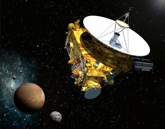 Зонд НАСА «Новые горизонты» будет искать новые спутники и кольца Плутона