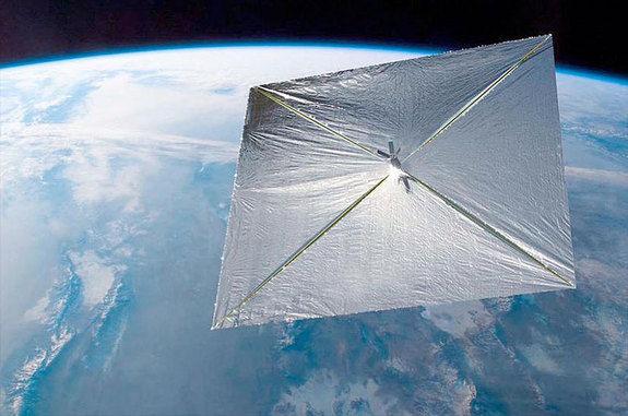 Сегодня вместе с космопланом X-37B будет запущен кубсат с солнечным парусом