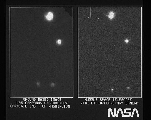 Космический телескоп Хаббл празднует очередную годовщину