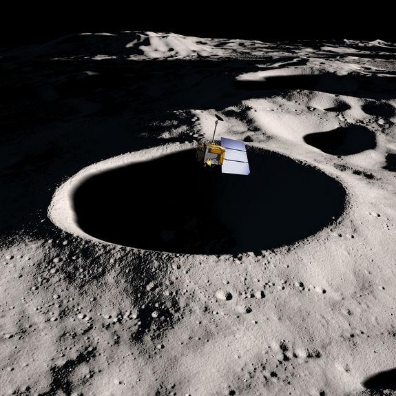 Космический зонд НАСА приблизился к Луне на минимальное расстояние