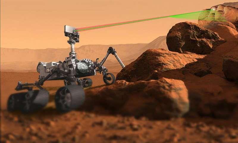 Ученые улучшили зрение инструмента «ChemCam» марсохода Curiosity