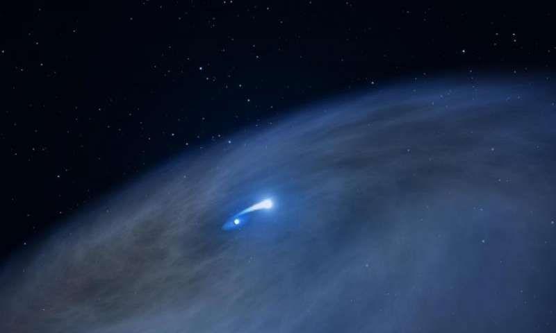 Космический телескоп «Хаббл» наблюдает уникальную звезду под названием Nasty 1