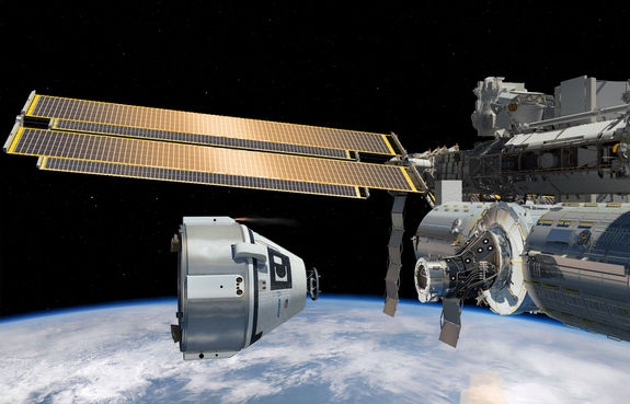 Компания Boeing получила от НАСА первый заказ на доставку экипажа на МКС