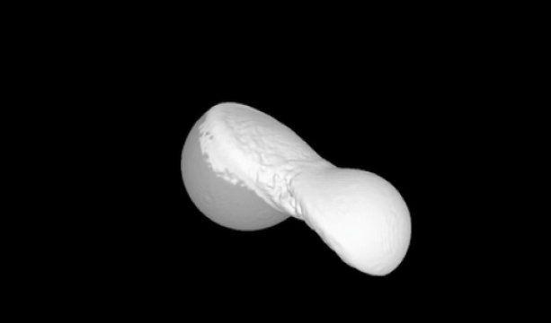 Ученые моделируют «сборку» комет в 3-D