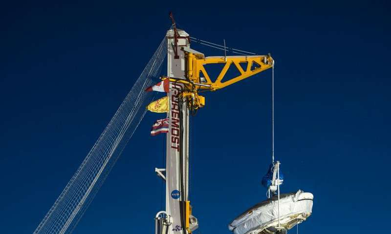 Сегодня в рамках нового испытания НАСА произведет запуск «летающей тарелки»