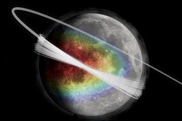 Луна окружена загадочным облаком пыли: вопросы и ответы
