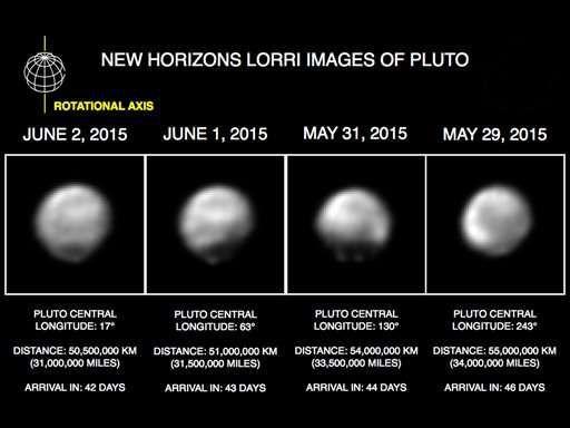 Космический аппарат НАСА лишь в четырех неделях пути от Плутона
