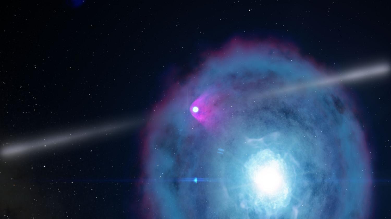 Столкновение двух объектов звездного типа зажжет «космические фейерверки»