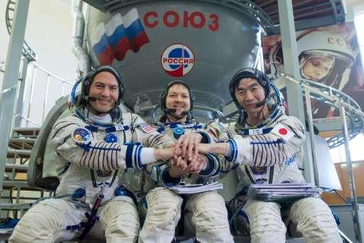 Члены экипажа готовятся к предстоящему полету на МКС без страха и беспокойств