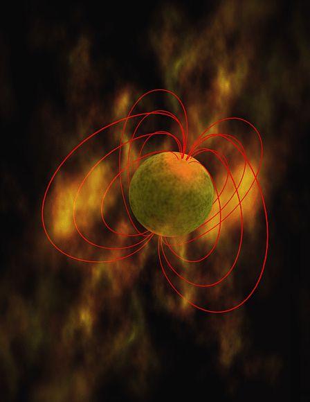 Крупнейшие во Вселенной взрывы вызываются магнетарами