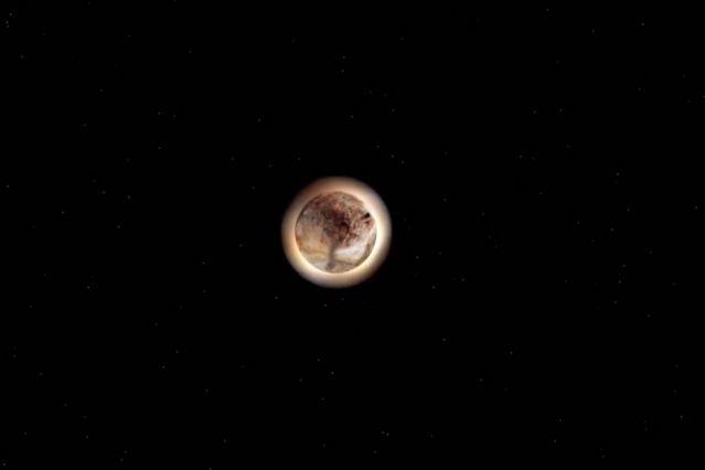 Тень, отбрасываемая Плутоном на Землю, раскрывает тайны его атмосферы