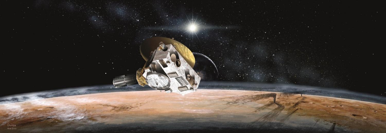 Ученые моделируют космическую погоду, поддерживающуюся в окрестностях Плутона