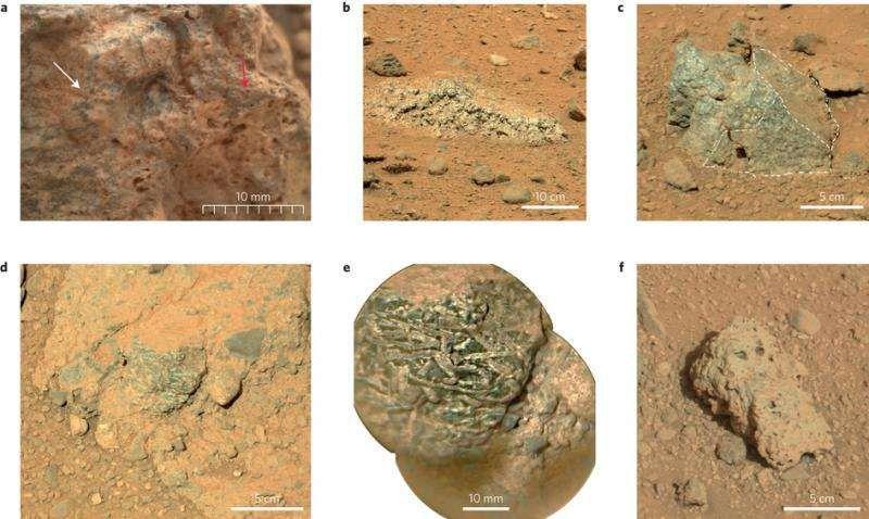 Образцы марсианской породы могут указывать на наличие континентальной коры