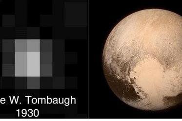 Ученые нарекли «сердце» на Плутоне в честь первооткрывателя карликовой планеты