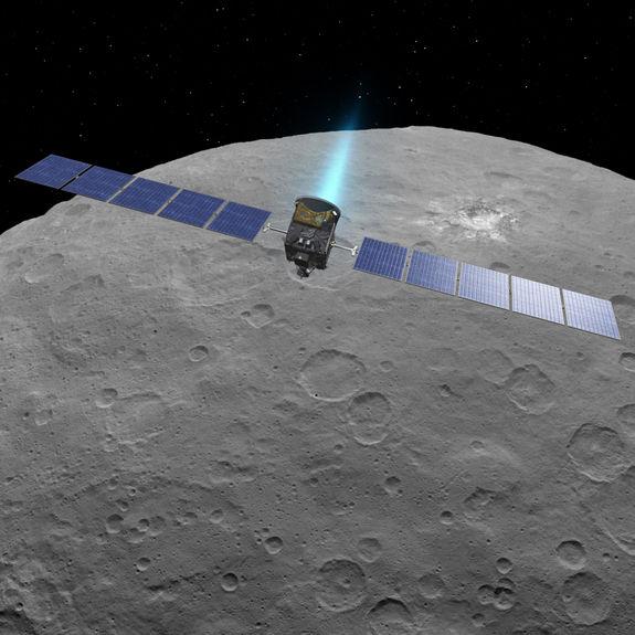 Зонд, исследующий Цереру, восстанавливается после технического сбоя