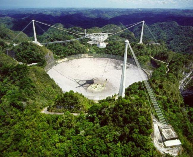 Китай начинает сборку крупнейшего в мире радиотелескопа